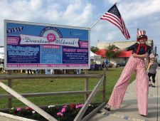 Memorial day weekend at the Downtown Wildwood's Farmer's Market