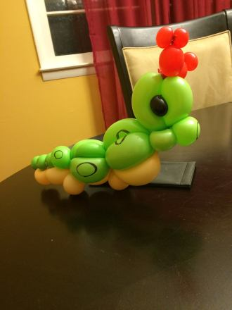 010 - Caterpie (5 balloons)
